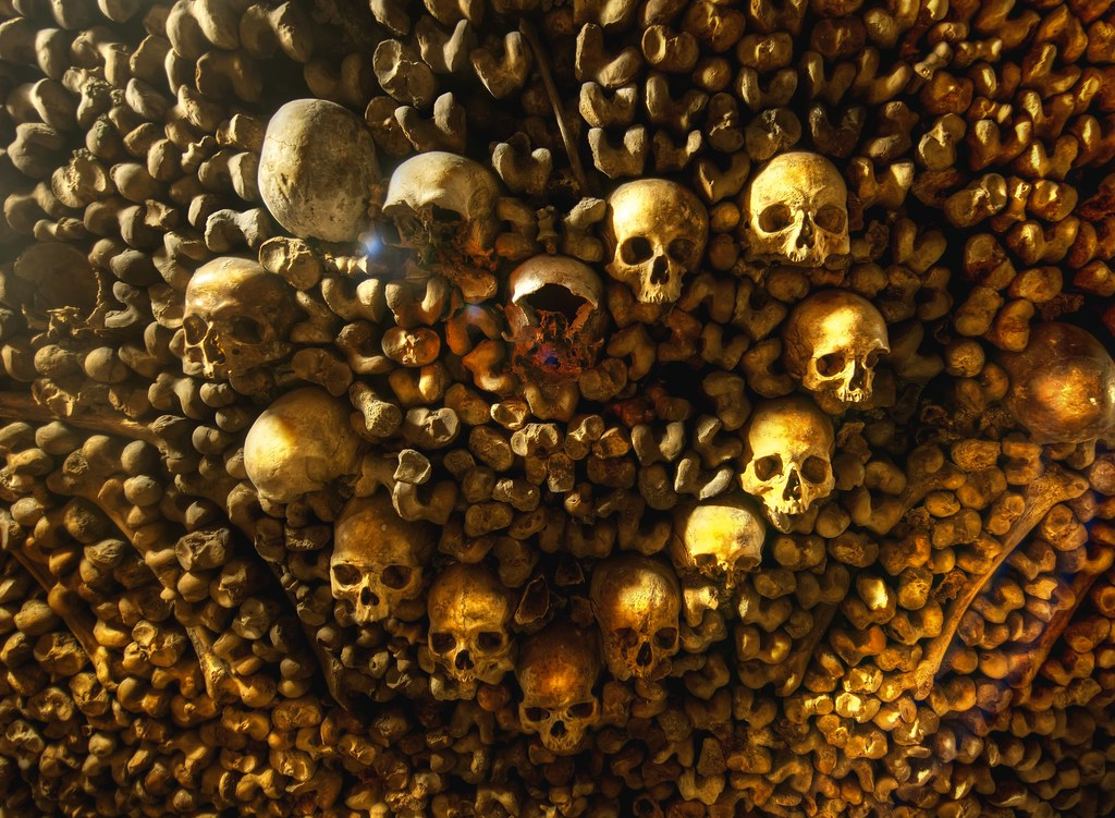 Wallpaper Skull 3d Heart Of Skulls Ahh The Catacombs Of Paris It S One