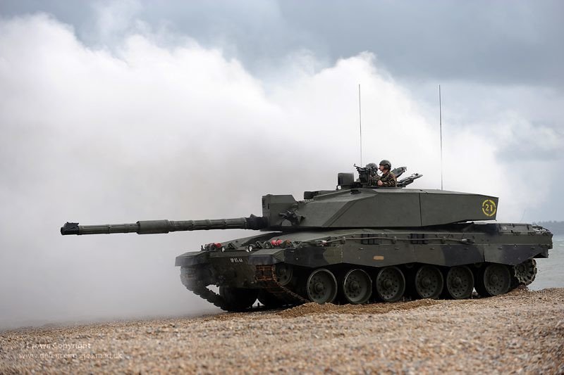 3d Beach Wallpapers Free Challenger 2 Tank During Amphibious Demonstration A