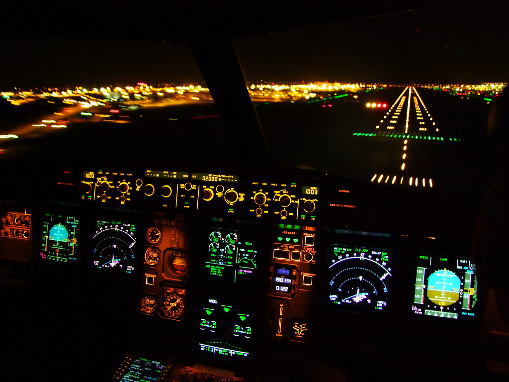 3d Animation Gif Wallpaper London Heathrow Short Final 27l The Jumpseat On The