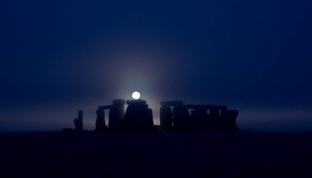 Wallpaper Stone 3d Stonehenge At Full Quot Super Quot Moon Duncan Everson Flickr
