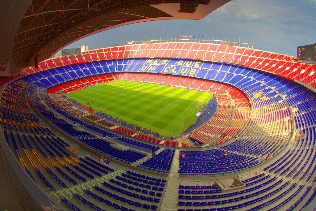 Barcelona 3d Wallpaper Camp Nou 169 Copyright Alex Van Knippenberg Camp Nou Is