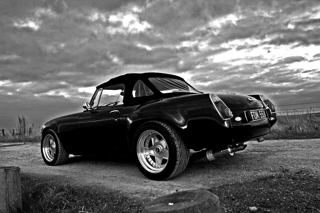 World Map Wallpaper Black And White Mgb Sebring V8 Roadster Shaun Flickr