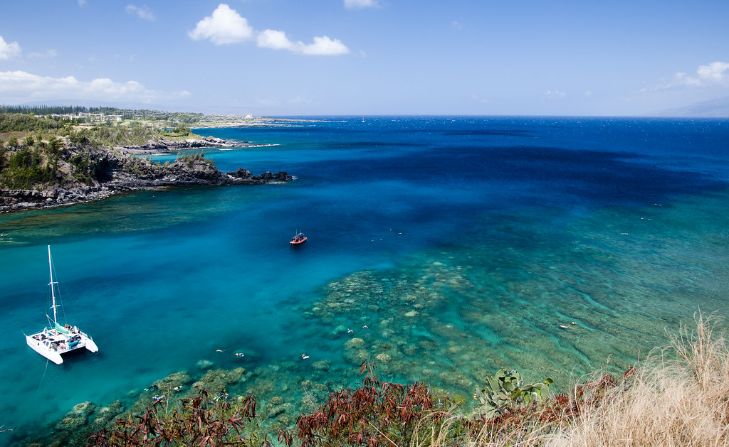 National Geographic Fall Wallpaper Honolua Bay Maui Approx 10am Light Wind And Scattered