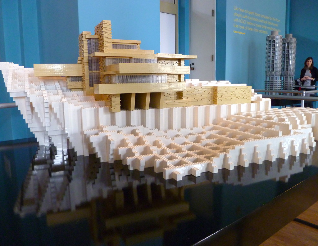Frank Lloyd Wright Model Kits Frank Lloyd Wright 39s Fallingwater Designed And Built By
