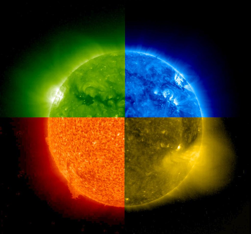 Solar System 3d Wallpaper Seeing Through The Layers Of The Sun Nasa Image Captured
