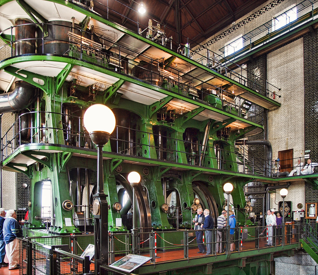 3d Wallpaper Of Titanic The World S Largest Triple Expansion Steam Pumping Engine