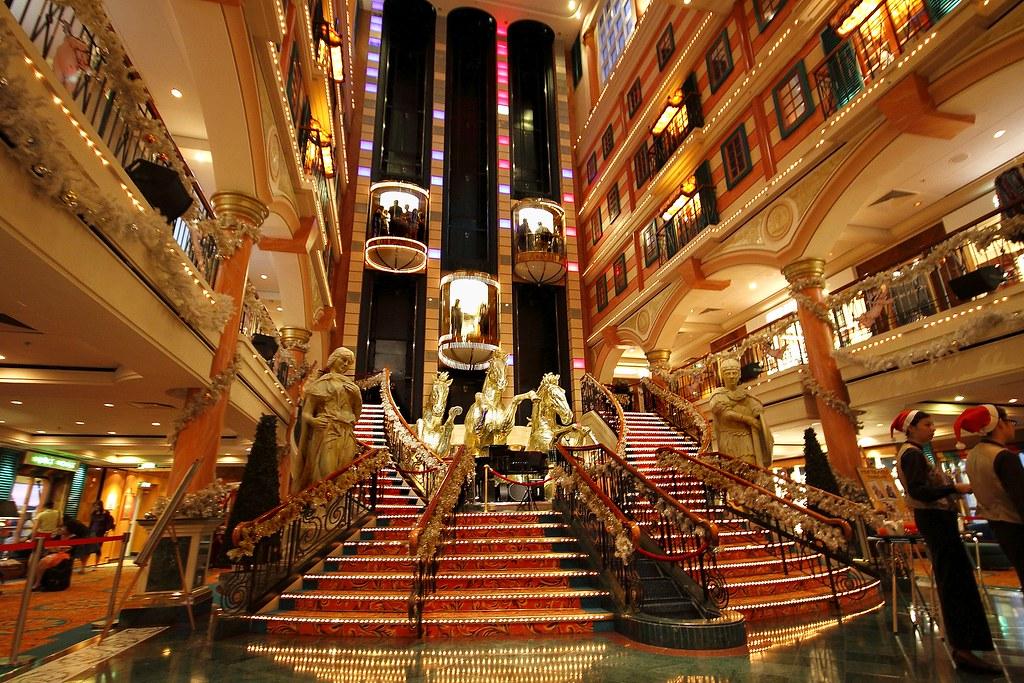 3d Welcome Wallpaper Star Cruises Superstar Virgo Lobby Pls View In Super