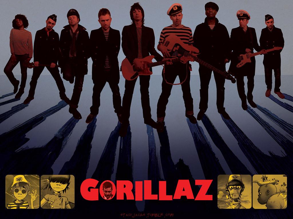 Cute Gorilla Wallpapers Top 1000 Wallpapers Blog Gorillaz Wallpapers Timesquare