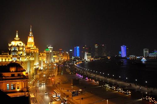 Night View Hd Wallpaper Marine Drive In 20 Years The Bund Shanghai 17 December