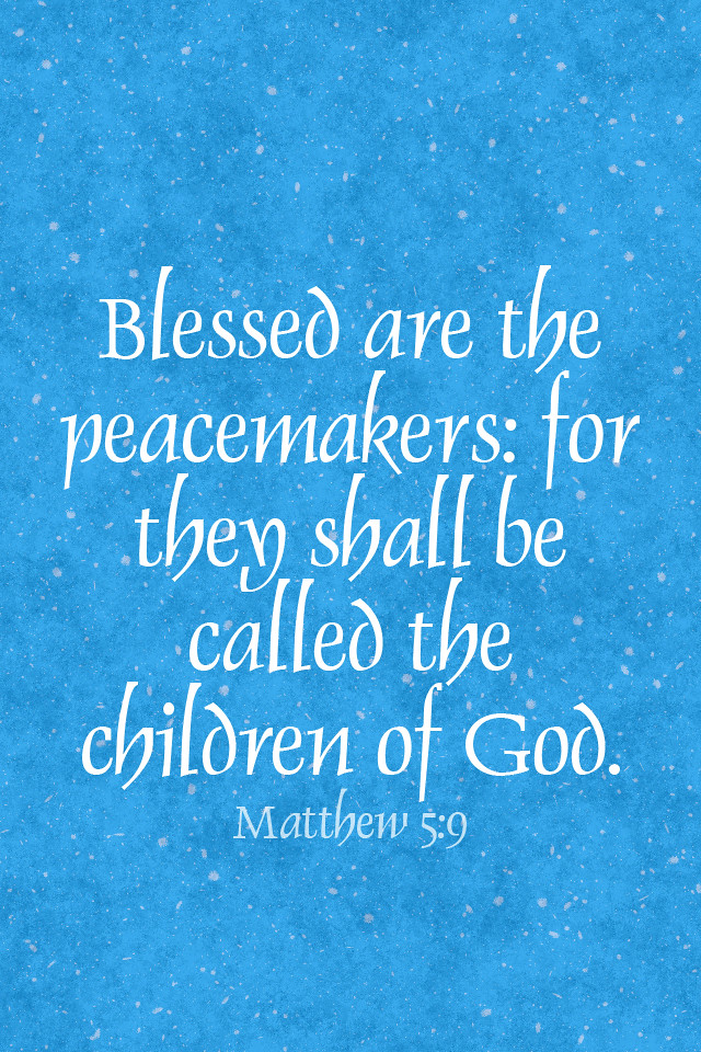 Bible Verse Wallpaper Iphone 6 Easter Iphone Background Blessed Are The Peacemakers