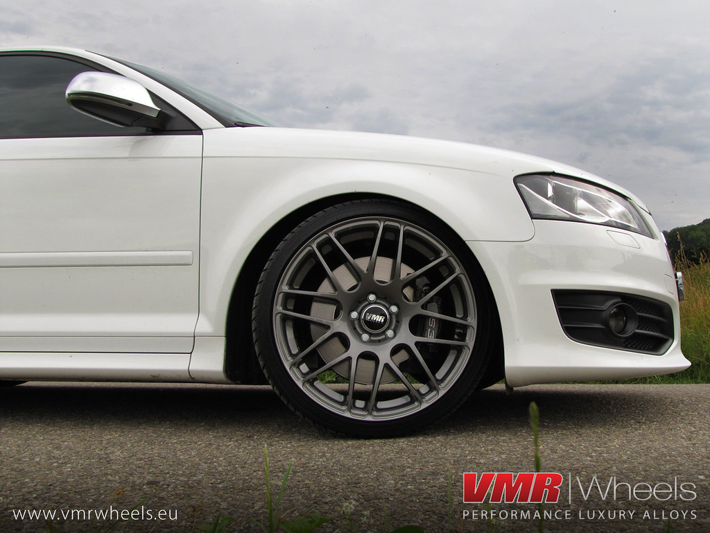 Mr White Koper Vmr Wheels V718 Gunmetal Audi S3 Sportback Vmr Wheels