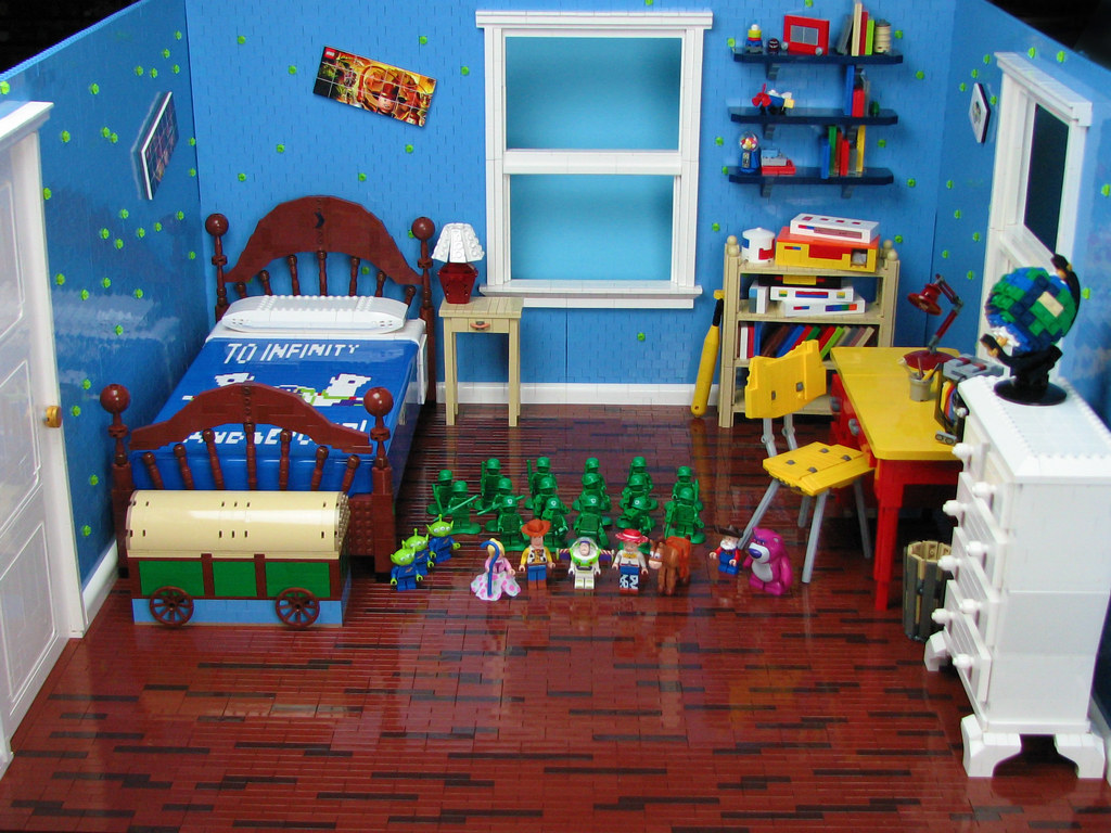 Andy39s Room My Newest Layout Comes From Toy Story 2