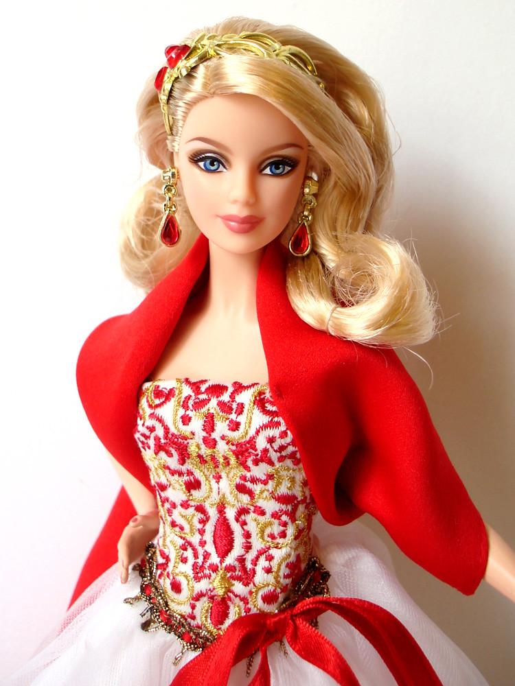 Barbie Girl Doll Wallpaper 2010 Holiday Barbie Sku R4545 T N Flickr