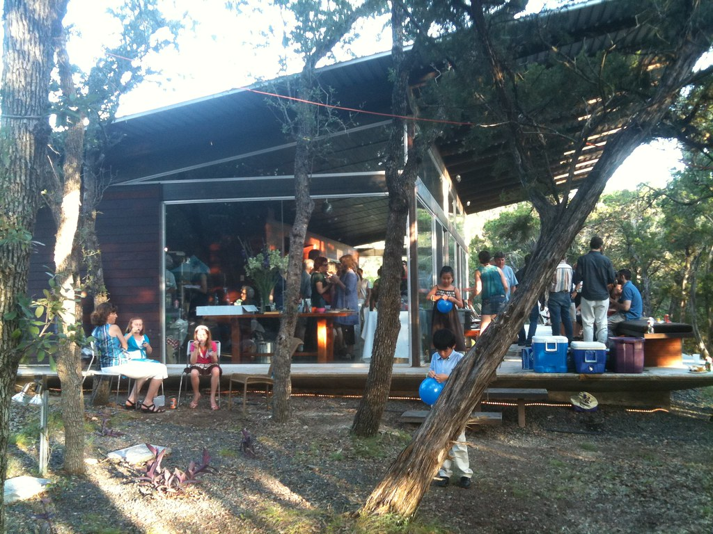 Studio Bercy Party At Lago Vista Lake House Commissioned By A Highly