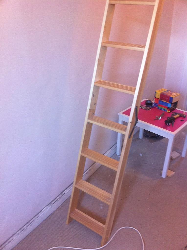 Diy Attic Ladder Grant Henderson Flickr
