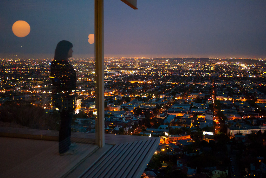 3d Beautiful Girl Wallpaper Hd Stahl House Martine Looking South Over West Hollywood