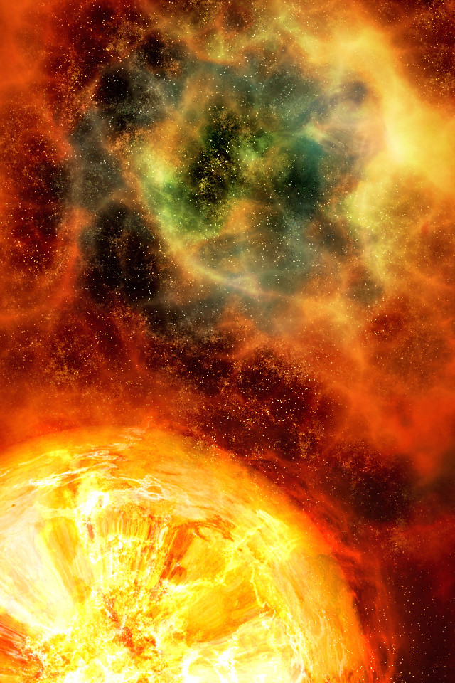 3d Windows Phone Wallpaper Iphone Background Nebula Explosion This Iphone