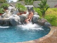 Custom Built slide - Rock Pool | Custom Built slide - Rock ...