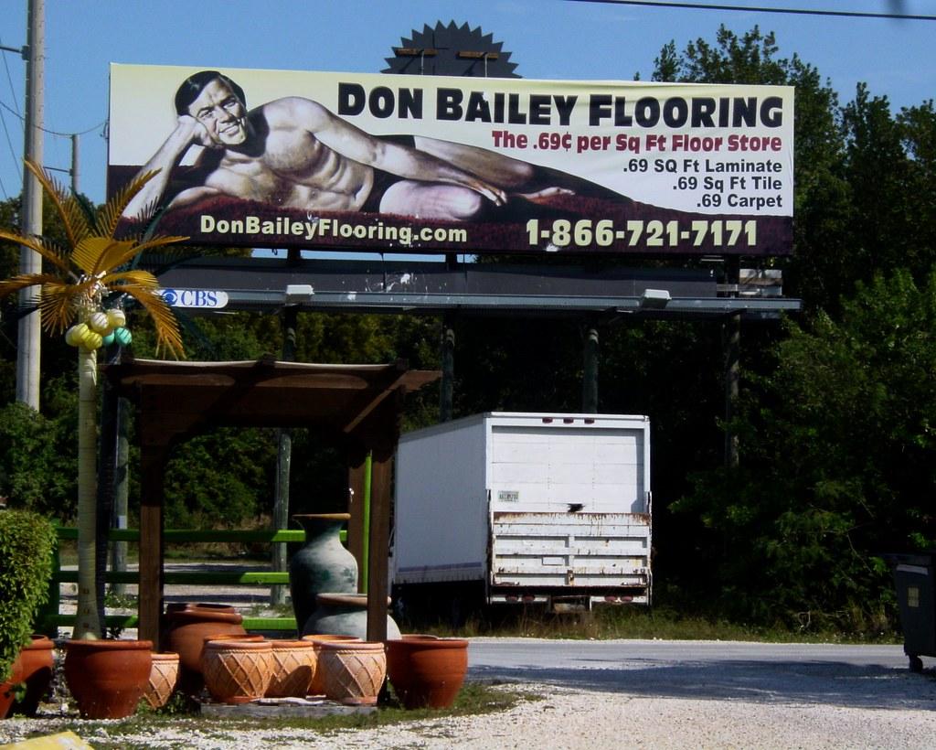 Actual Billboard In Key Largo Quot69 Cents Per Sq Ft Floor