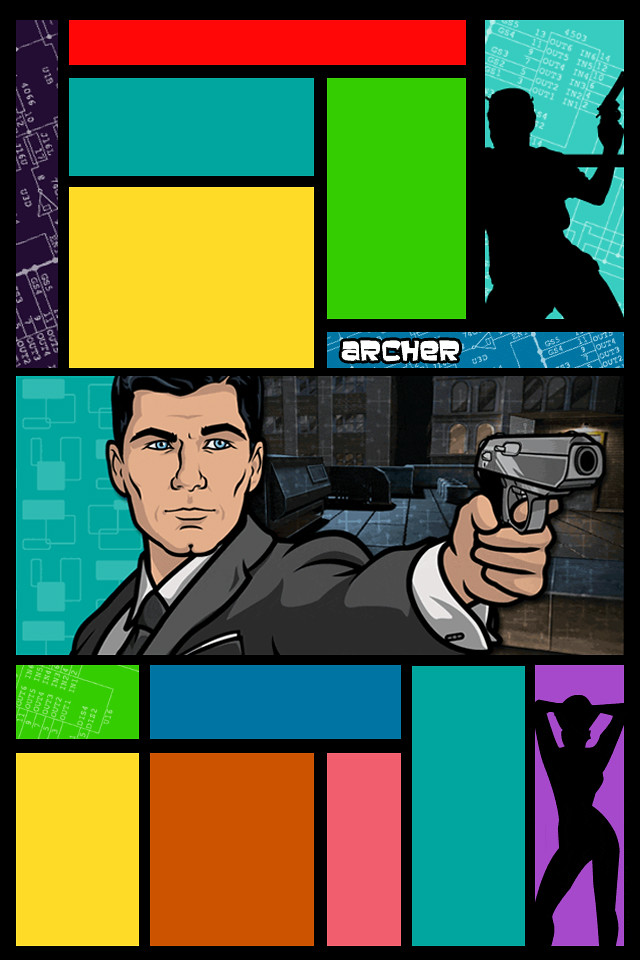 New Iphone Wallpaper Archer Gun Wallpaper Archer With A Gun For Iphone 4