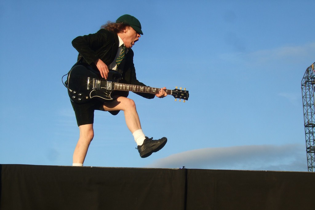 God 3d Wallpaper Download Quot The Duckwalk Quot Angus Young At Download 2010 Found This