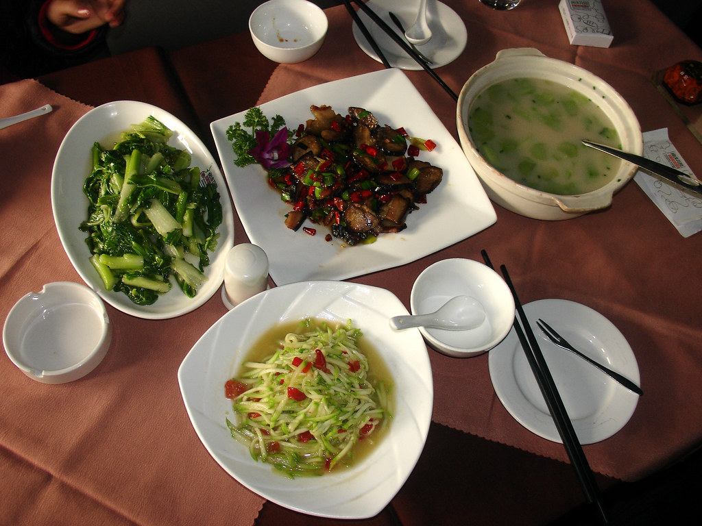 Qing Bai A Meal Fit For A King Qing Chao Bai Cai Tai Poached