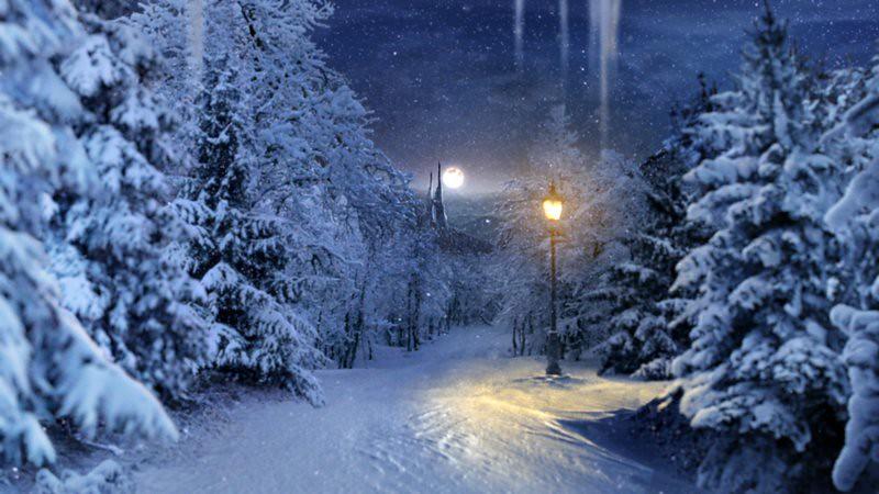 Fireplace 3d Wallpaper The Magical Snowy Scene Rnib Flickr