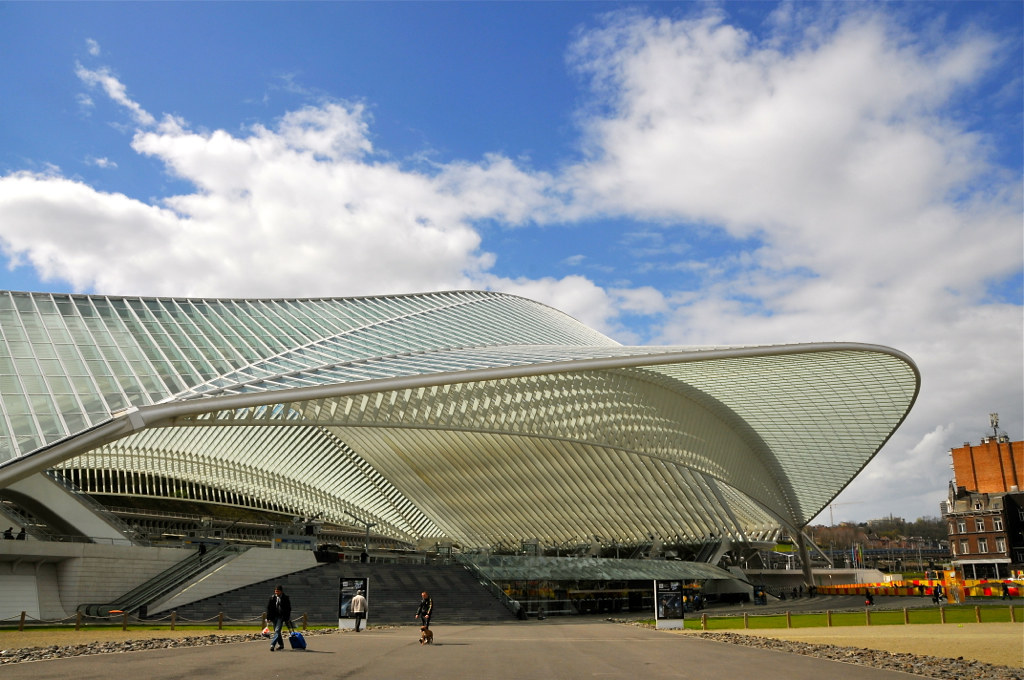 Architect Valencia Station Luik-guillemins | Een Ontwerp Van Architect