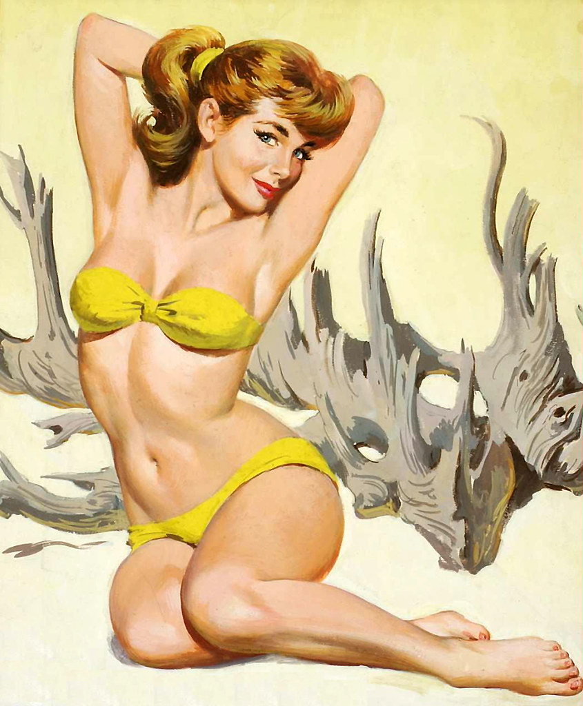 Navy Pin Up Girl Wallpaper Arthur Sarnoff It S Nice To View A Beach Scene