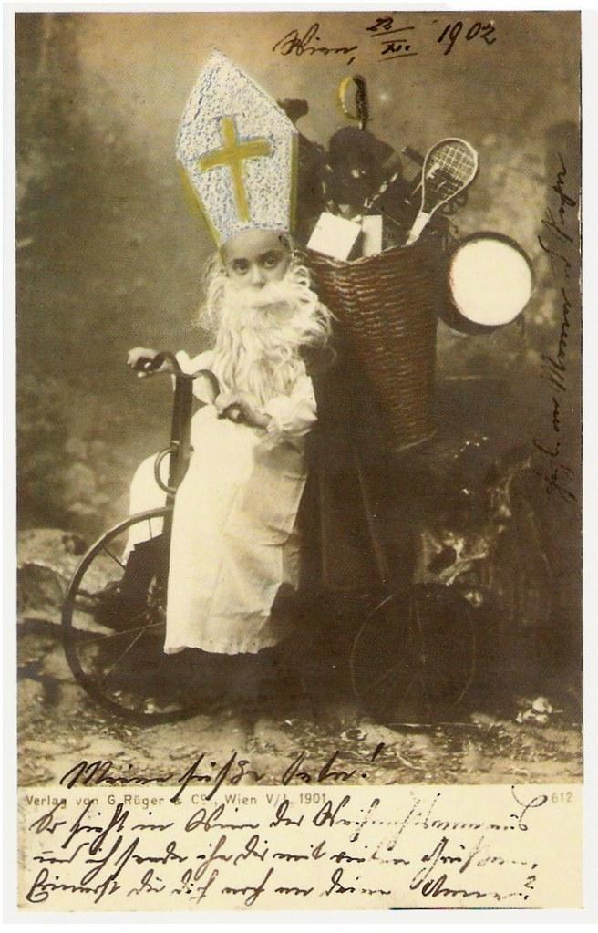 free vintage santa images
