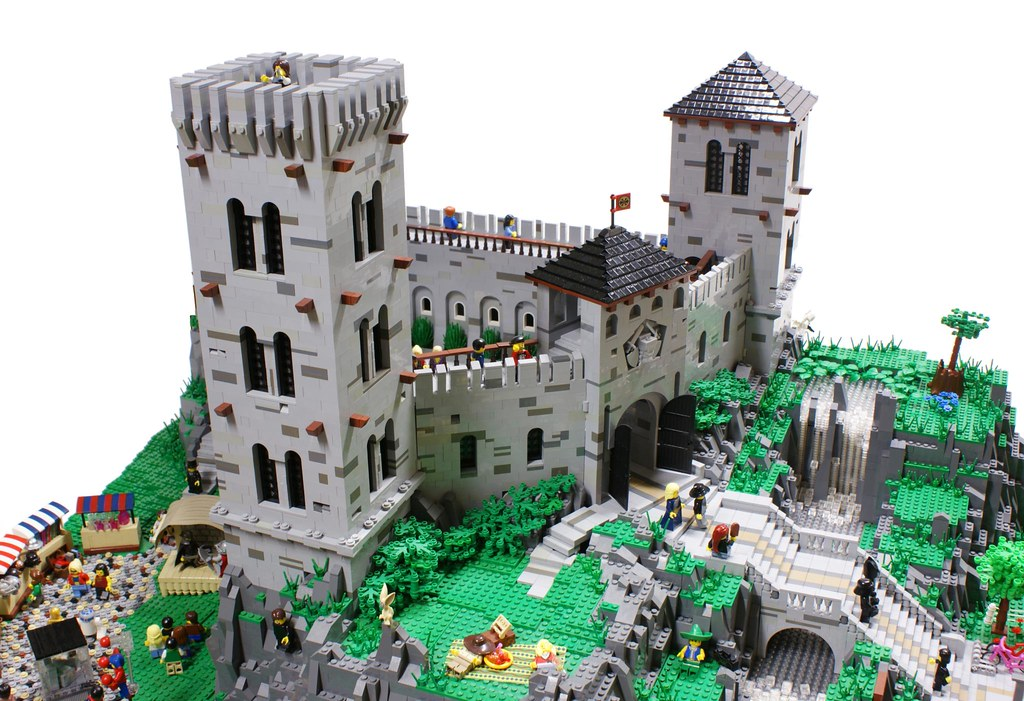 3d Wallpaper Made In China Medieval Castle Today My Vision Of The Classic Fortified