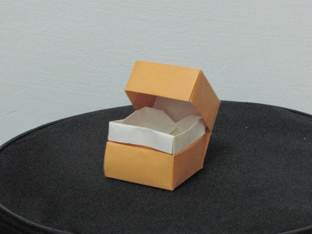 Origami Box And Lid Origami Box And Lid Design David Brill Origami Levi Flickr