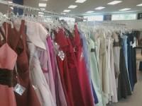 Racks of prom dresses | Flickr - Photo Sharing!