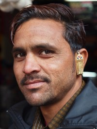 Ajmer - Man with earring | OLYMPUS DIGITAL CAMERA | Flickr