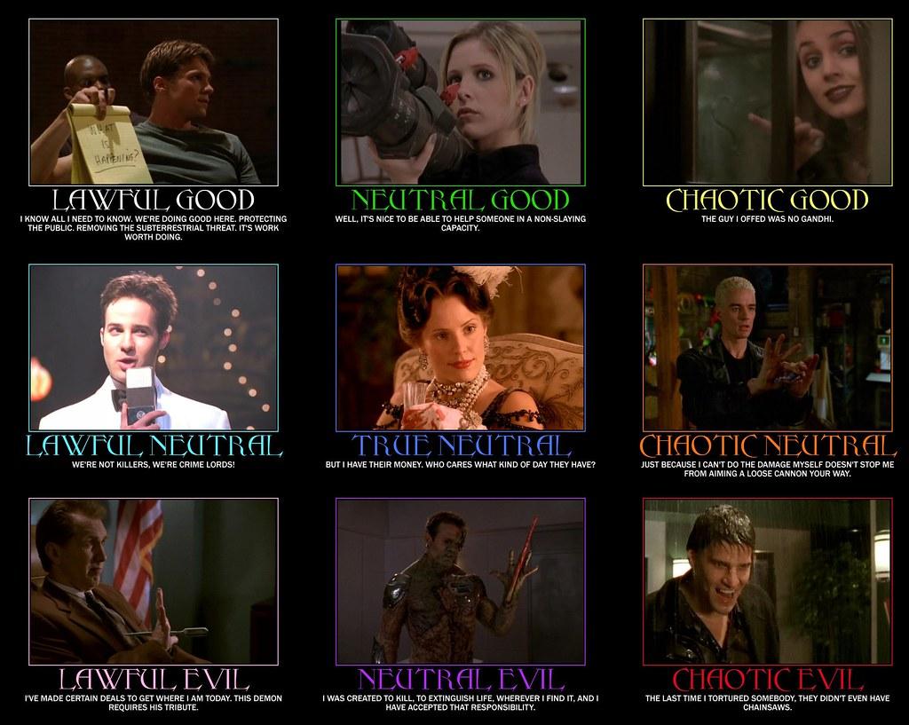 Memes Wallpaper 3d Buffy Alignment Chart Ymmv Faith Anya And Spike Move