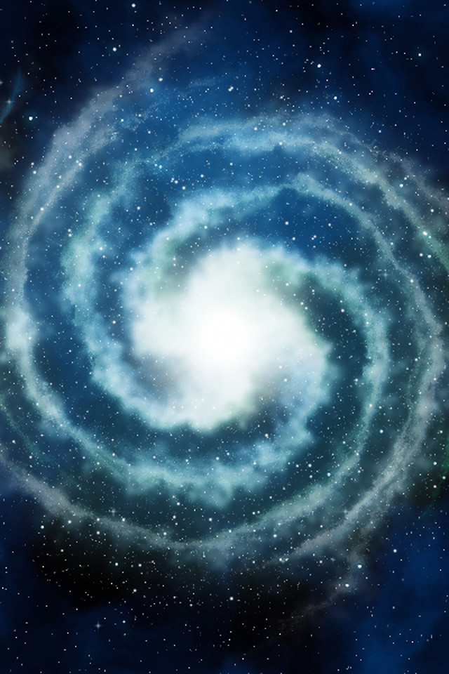 Hd 3d Droid Wallpapers Iphone Background Spiral Galaxy This Iphone Background