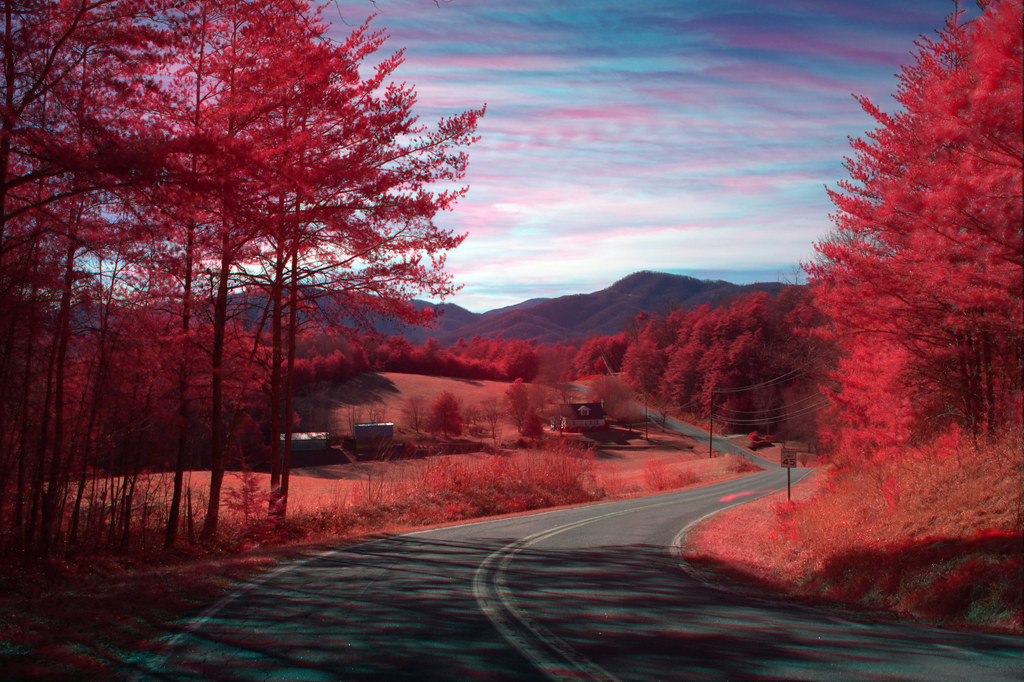 1920x1080 Fall Urban Wallpaper Silvers Welch Road View Irg Mcdowell County Nc Cross