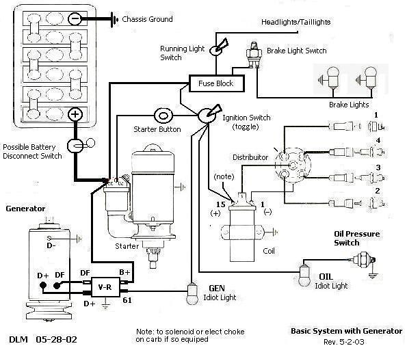 vw empi dune buggy wiring diagram