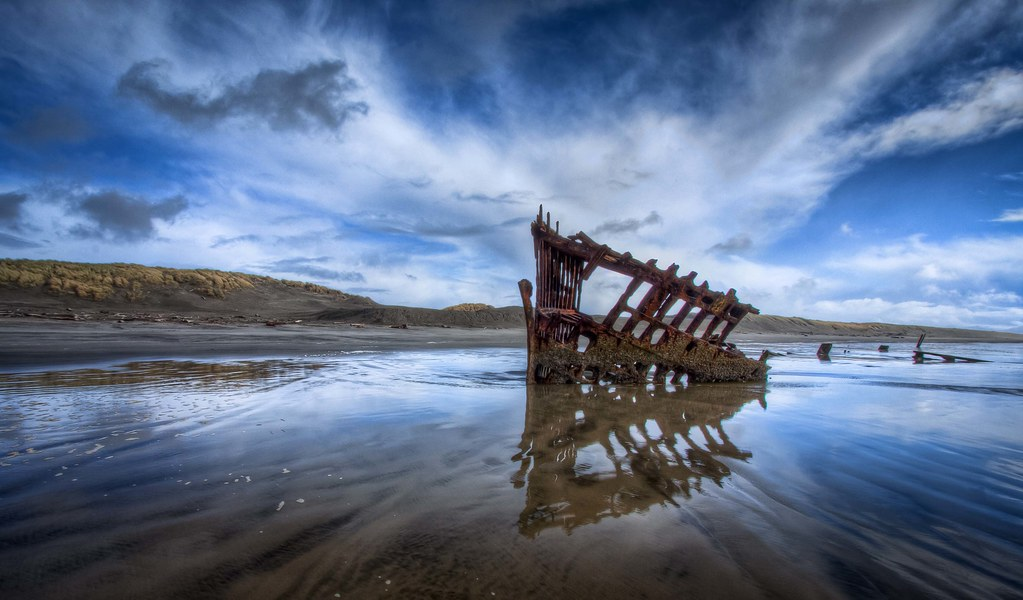 All 3d Wallpapers Download Peter Iredale Shipwreck Hdr This From My Oregon Coast