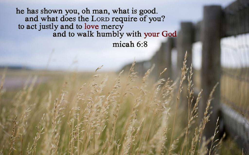 Best Quotes Wallpaper For Facebook Micah 6 8 Wheat 1440x900 A Desktop Wallpaper With Micah