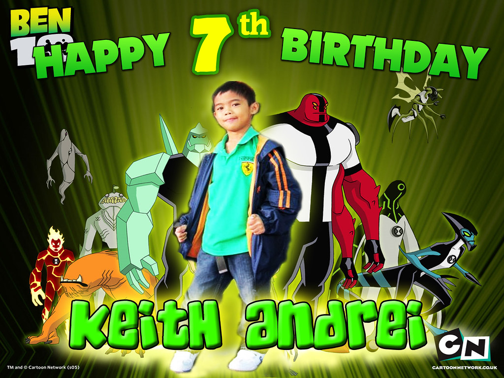 3d Wallpaper Ideas Tarp Tarp Layout I Have Designed For 7th Birthday Ben10