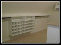 Sloped Ceiling Closet Solution | Flickr - Photo Sharing!