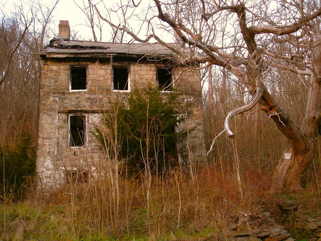 Stone Farmhouse For Sale Pa Burned Stone House Grindstone Pa Finally Found This