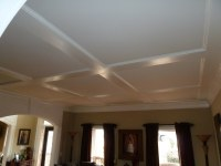 Low Profile Coffered Ceiling Trim   Enhanced Custom Trim ...