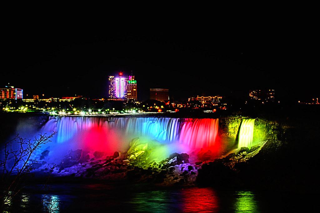 Niagara Falls Full Hd Wallpaper American Niagara Falls Night Derek Hatfield Flickr