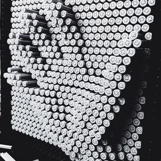 Lego Pin Art Handprint