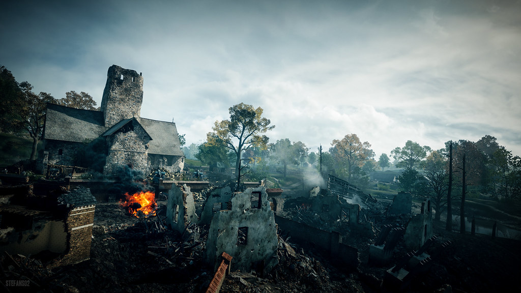 New 4k 3d Hd Wallpaper Battlefield 1 Down And Destroyed Screenshot Of The