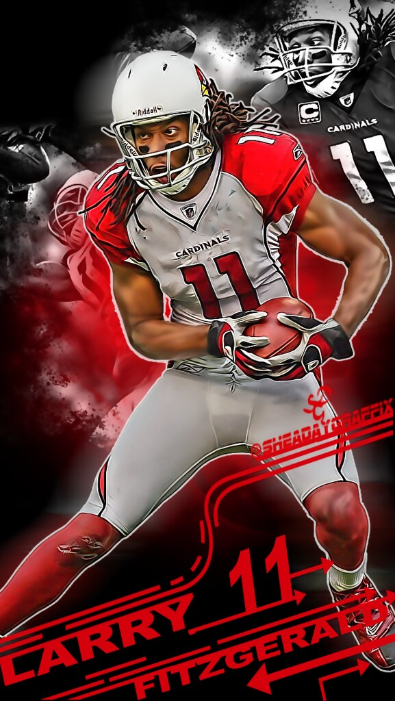 Wallpaper 3d Iphone 6 Larry Fitzgerald Iphone Wallpaper Black Sheadaygraffix