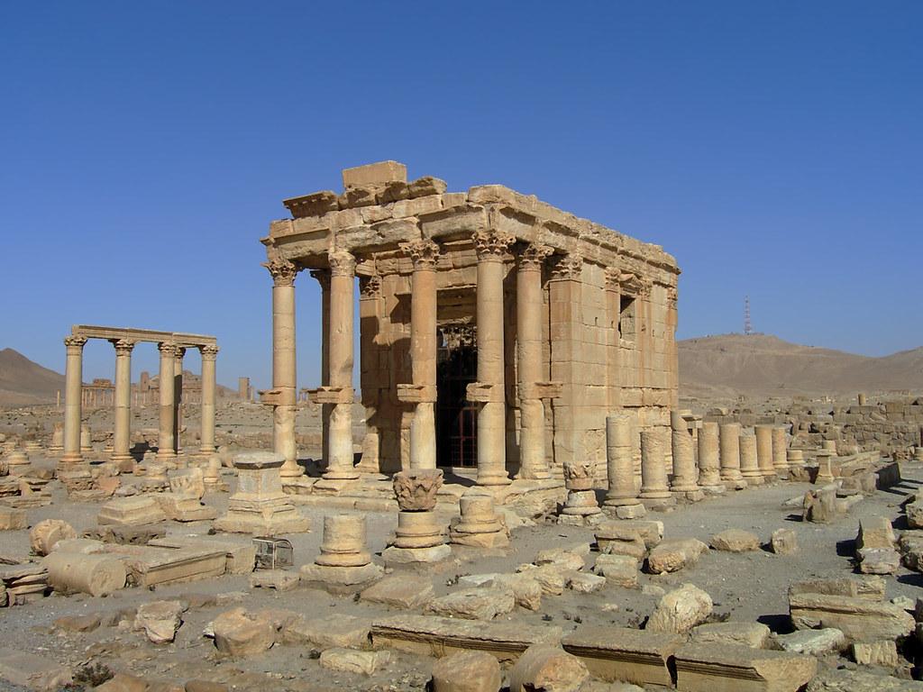 Beautiful 3d Wallpaper Free Download Palmyra تدمر Temple Of Baal Shamin معبد بعلشمين