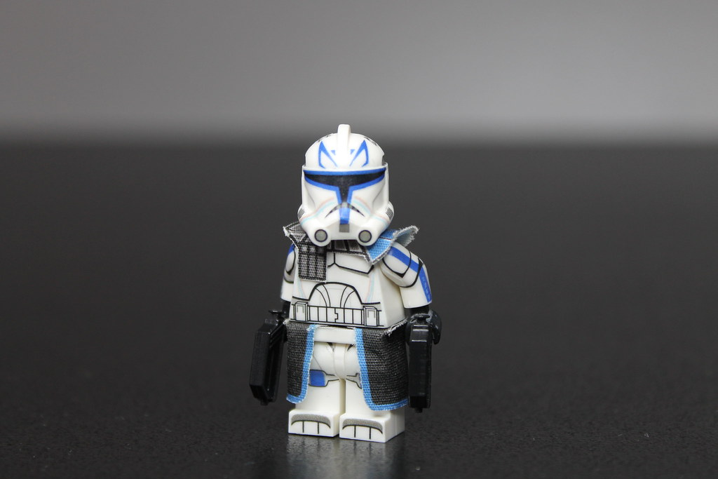 Custom Photo Wallpaper 3d Lego Star Wars The Clone Wars Captain Rex Custom Lego